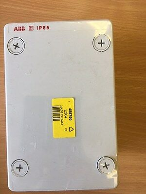 ABB 12804 IP65 Polycarbonate Enclosure 140x220x140mm + Mounting Plate