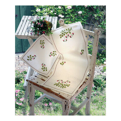 ANCHOR   Embroidery Kit: Twin Flower - Table Runner   92400003332