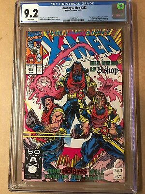 The Uncanny X-Men #282 (Nov 1991, Marvel) First Appearance of BISHOP!