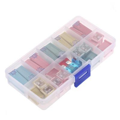 27 Pieces 20A 30A 40A 50A 60A Mini Blade Fuse Assortment Kit for Car Truck