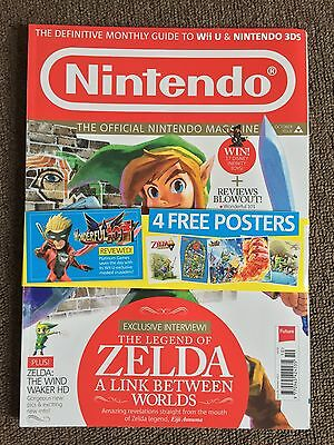 RARE OFFICIAL NINTENDO MAGAZINE ISSUE No 99 OCT 2013 ZELDA UK MINT