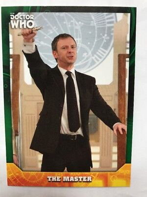 Topps Dr Who Signature Series The Master 44/50 Green Parallel Card #31