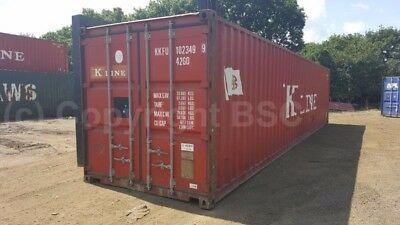 Used 40ft shipping containers in London ideal for storage or export use