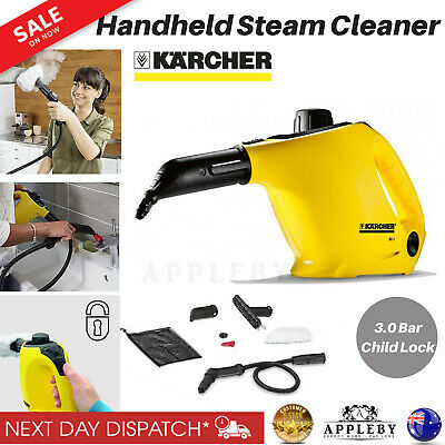 Karcher Handheld Steam Cleaner Window Washer Kitchen Clean Hygiene Mould Remover