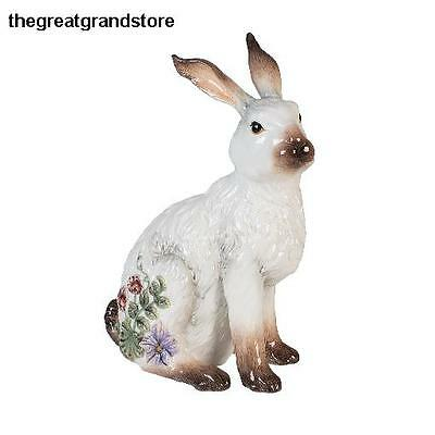 Fattoria Rabbit Figurine Violet Decoration Gardener Delight Kitchen Displayed