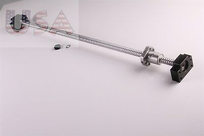 SFU1605 L1000mm Rolled Ball Screw C7 with BK/BF12 End Machined CNC NEW