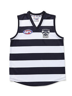 Afl Geelong Cats  Kids Footy Jumper/guernsey - Brand New