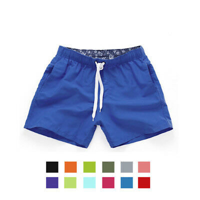 Men's Casual Shorts Beach Surfing Swiming Pants Summer Trunk Shorts with Pockets