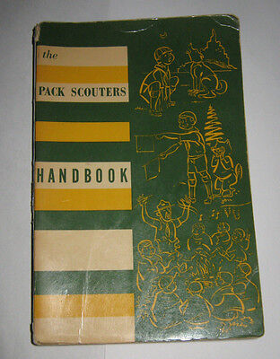 Scouts Canada The Pack Scouters Handbook Second Edition 1960