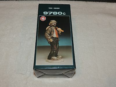 Flambro Emmett Kelly Signature Collection figure The Hobo 9780C - Hand Signed