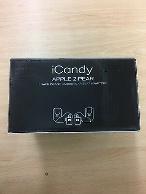 iCandy Apple 2 Pear Lower Carseat Adaptors