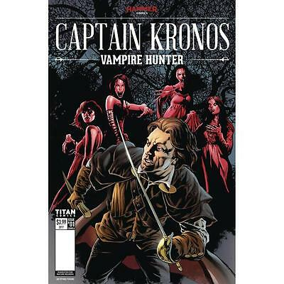 HAMMER FILMS - CAPTAIN KRONOS COMIC #1 (Cover A)