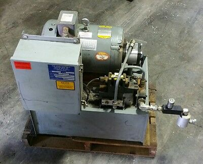 """7.5 hp hydraulic power unit   """"Shipping Available """"    #1049SR"""