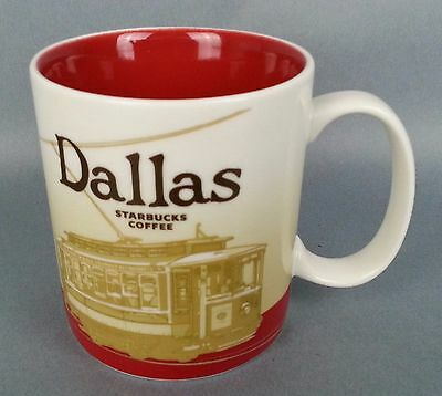 2012 Starbucks Coffee Dallas TX Texas 16 oz Mug