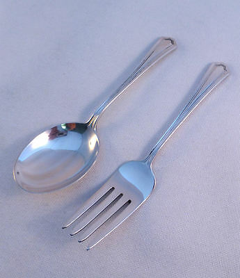 Mary Warren-Manchester Sterling 2-PC Baby Set