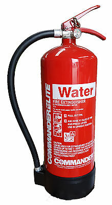 6ltr Water Fire Extinguisher - Amazing Value - Stock Clearance - Free Delivery!
