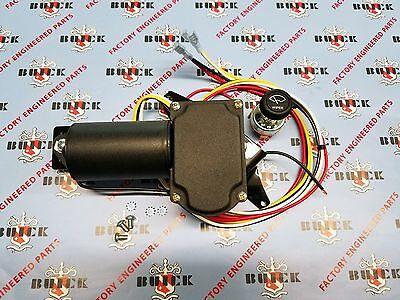 1957 Buick & Oldsmobile Electric Wiper Motor Kit | 12V Replacement | Made in USA