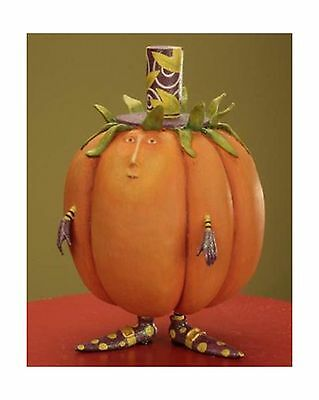 Patience Brewster Gourdon Pumpkin Figure