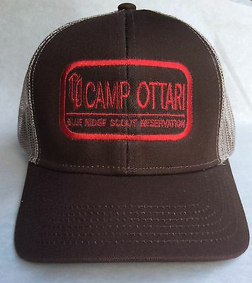 Camp Ottari - Blue Ridge Scout Reservation - Boy Scouts - Mesh - Trucker Cap