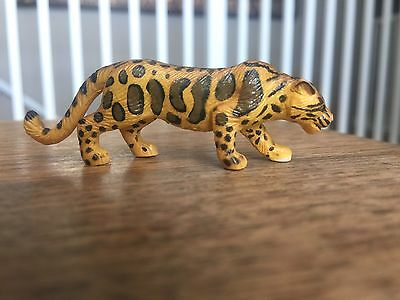 Rare! Play Visions Predators Pv 1996 Animal Figure - Clouded Leopard