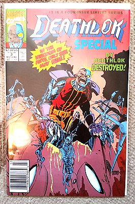 Deathlok Special #3 (Jun 1991, Marvel) VG-NM