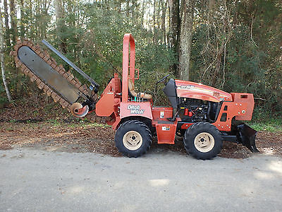 2010  Ditch Witch  RT45  hydraulic slide trencher, 6 way backfill blade, vermeer