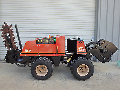 2005 Ditch Witch 410SX  cable plow, trencher, & roto witch, choice of plow blade