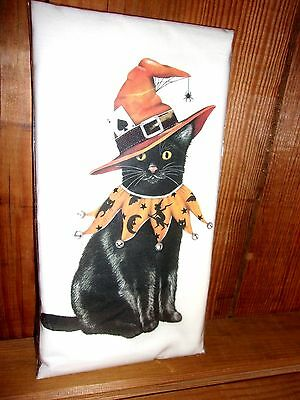"Mary Lake Thompson ""Cat Witch"" Flour Sack Towel"