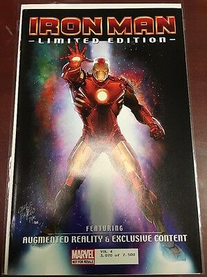 Iron Man Limited Edition Augmented Reality 3,070 of 7,500 FN/VF