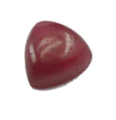 Indian Ruby Cabochon Red Trillion gems 7x7 1 pc
