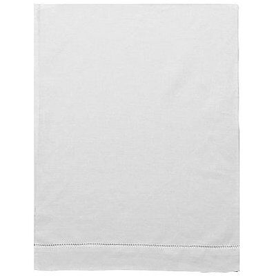 "Pure Linen 12"" X 16"" White Baby Pillowcase with Hemstitch"
