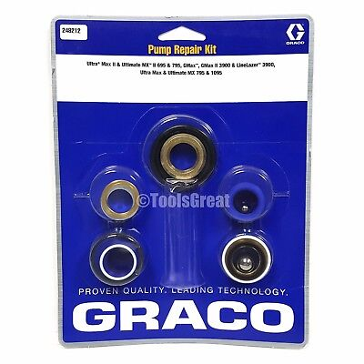 Graco Ultra & Ultimate MX II 695 & 795 Sprayer Pump Packing Repair Kit 248212