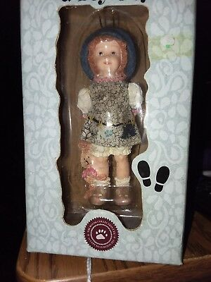 boyds resin carly macey/ben bunny watching ornament