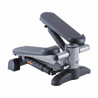 Comfort Mini Stepper Black Workout Fitness Machine Stair Steps DOMYOS Essential