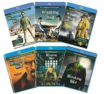 Breaking Bad: The Complete Series BLU-RAY Season 1 2 3 4 5 6 NEW & Sealed