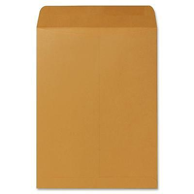 "Sparco Catalog Envelope, Plain, 28lb, 9""x12"", 250/BX, Kraft 09654"