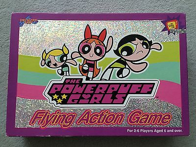 POWERPUFF GIRLS 'FLYING ACTION GAME' BOARD GAME complete