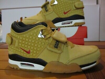 3a261ca03f4b07 DS Nike Air Trainer V. VICTOR CRUZ PRM Haystack Red Black Wheat Flax 812637  700