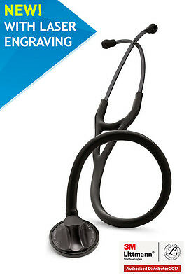 3M™ Littmann® Master Cardiology 2176  Black & Smoke Engraving fast delivery NEW!