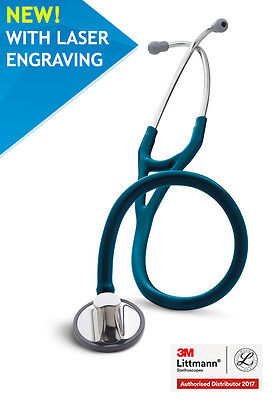 3M™ Littmann® Master Cardiology 2178 Caribbean Blue Engraving fast delivery NEW!
