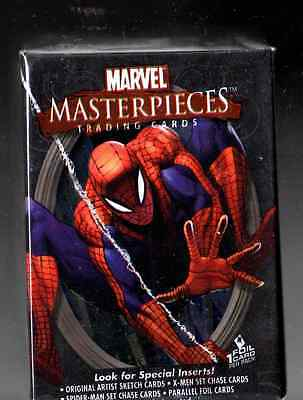 2007 Marvel Masterpieces series 1 complete base set 90 cards