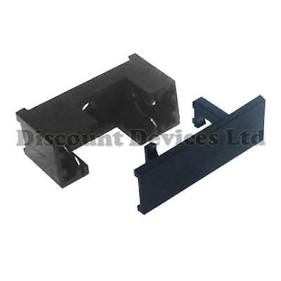 PCB Fuse Holder With Cover PCB/Panel Mount For 5x20mm