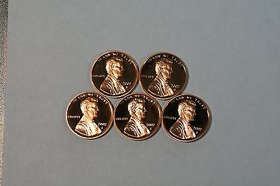 2002 S Proof Lincoln Memorial Cent Penny