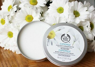 The Body Shop - Camomile Sumptuous Cleansing Butter  + Muslin Cloth RRP £12.50