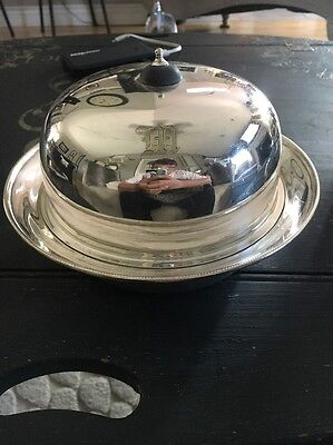 1860s silver Plated Butter Dish 3 Pieces HB&H