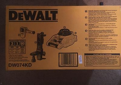 DeWalt Self Leveling Rotary Laser, Brand New, Fast Shipping