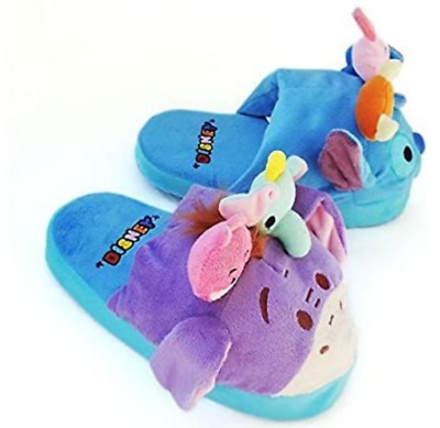 Disney stompeez slippers size M/L (3.5 - 7 kids) New Stitch