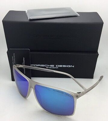 990bbdc862d NEW PORSCHE DESIGN Sunglasses P 8594 A 62-12 Matte Black Frame w ...