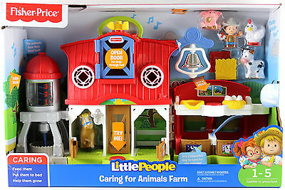 Fisher Price Little People Animals Farm Playset With Farmer Jed