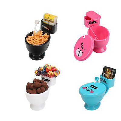 Creative WC Toilet Seat Coffee Tea Cup Mug Snack Holder Water Drinking Cup